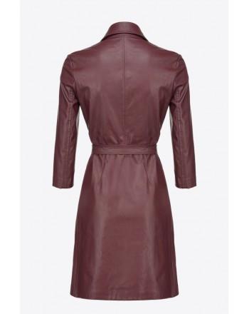 PINKO - GARDEN dress - Bordeaux