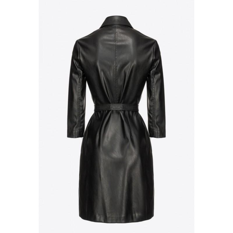 PINKO - GARDEN dress - Black