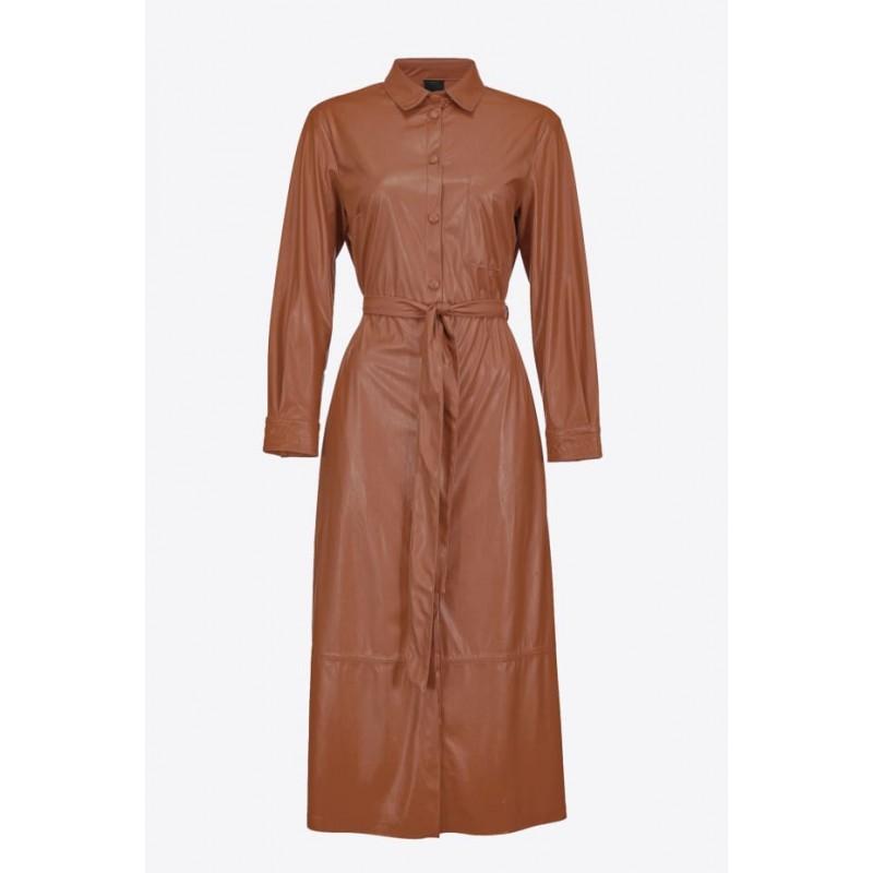 PINKO - mARIS dress - Brown