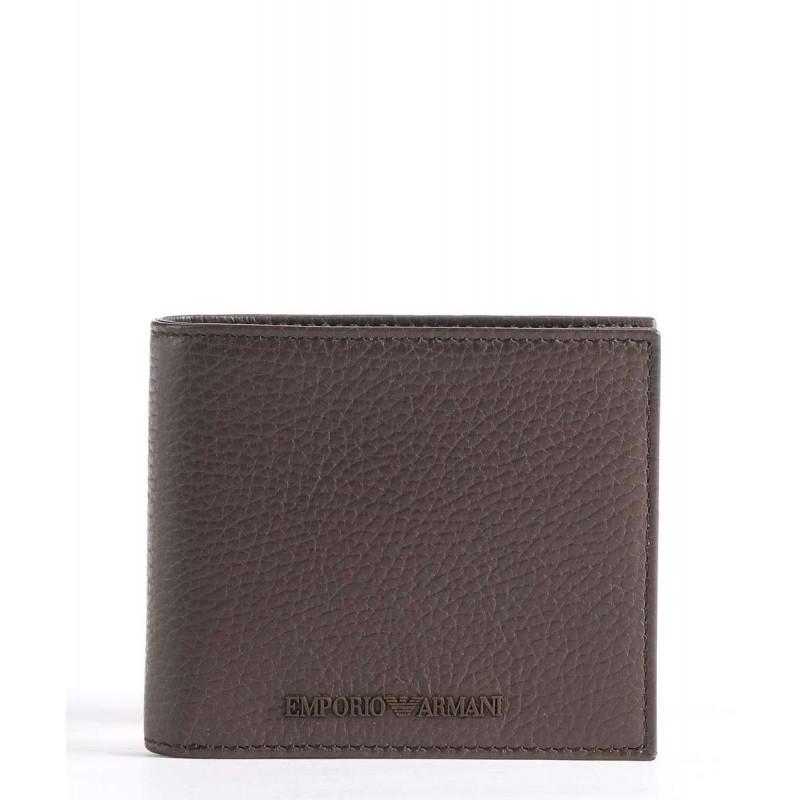 EMPORIO ARMANI - Y4R167 wallet - Brown