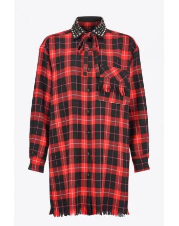 PINKO - BRYGHTON Shirt - Black/ Red