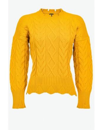 PINKO - CHIANTI Sweater - Orange