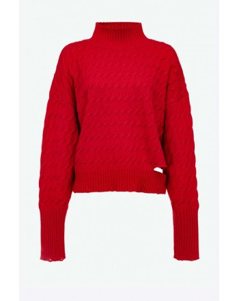 PINKO - NINFEO 1  Pullover - Rosso
