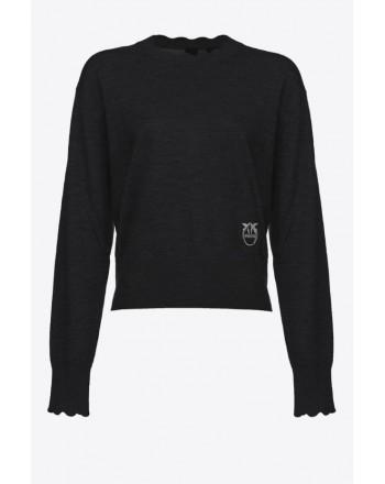 PINKO - MARMILLA pullover - Nero