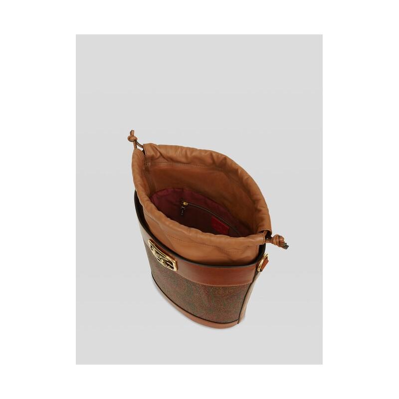 ETRO - PEGASO  Leather Satchel - Paisley
