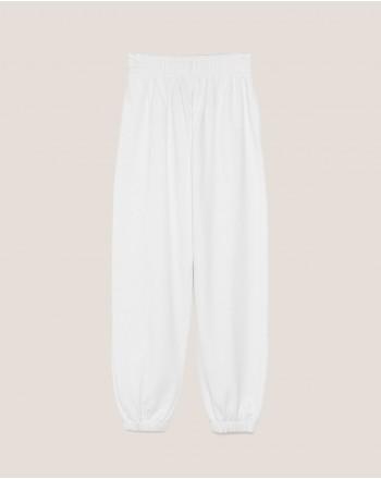 HINNOMINATE - Fleece Jogger Trousers Hnsp38 - White