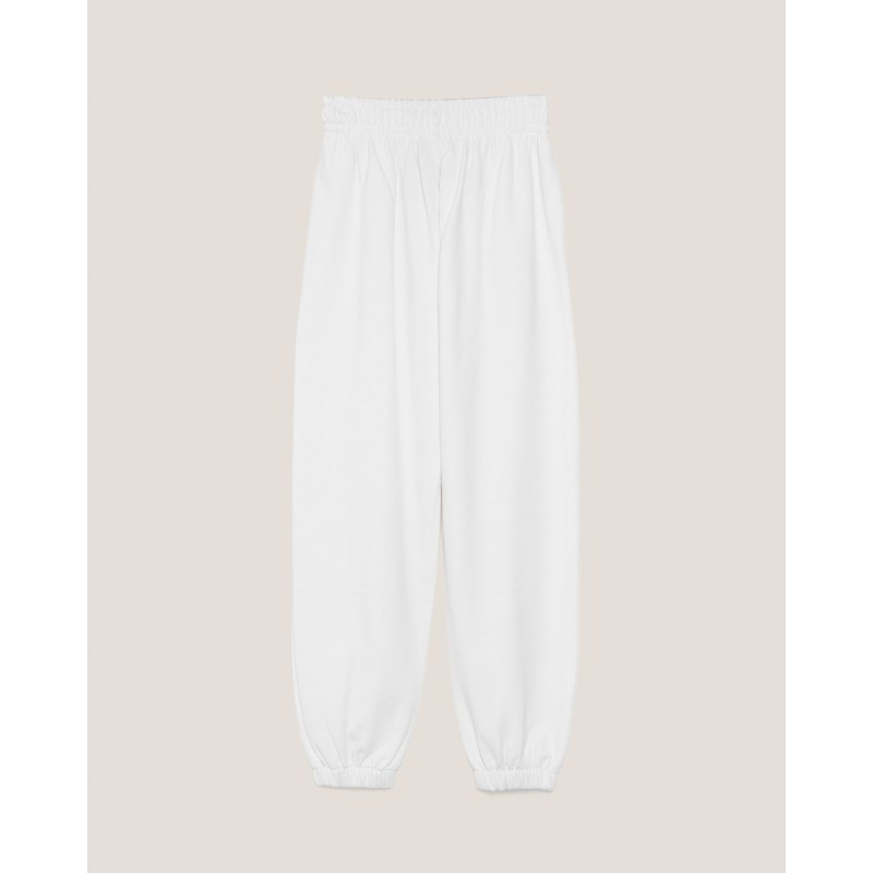 HINNOMINATE -Pantalone in Felpa Hnwsp38- Bianco