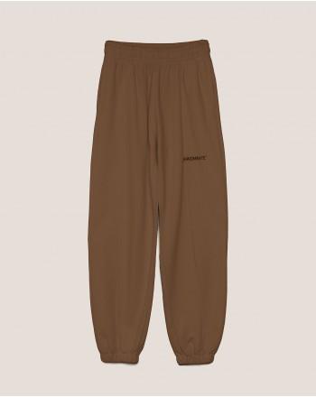 HINNOMINATE -Fleece Trousers Hnwsp38  - Coffee