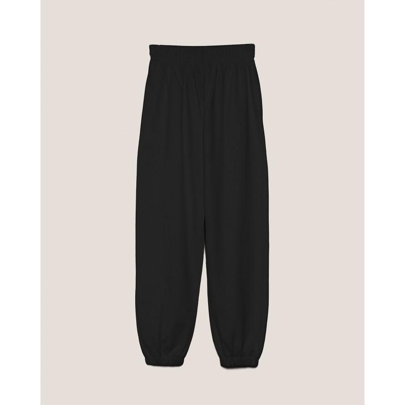 HINNOMINATE -Pantalone in Felpa Hnwsp38- Nero