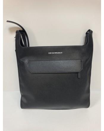 EMPORIO ARMANI - Shoulder pouch -Y40337 - Black