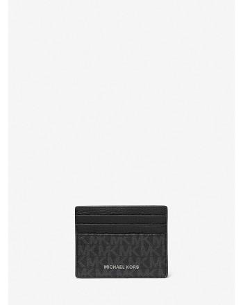 MICHAEL KORS - Credit card holder 39F1LHDD2K - Black