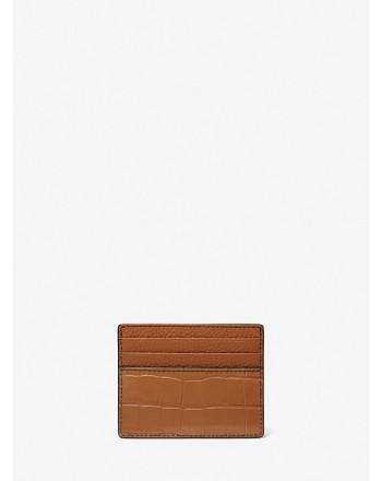 MICHAEL KORS - Credit card holder 39F1LHDD2K - leather