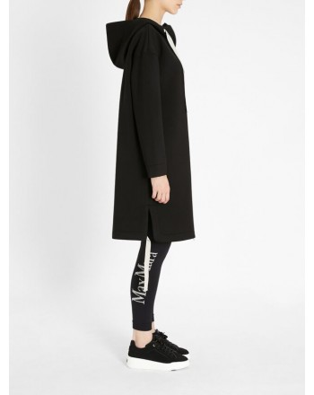 S MAX MARA - ADESSO Oversize Fleece - Black