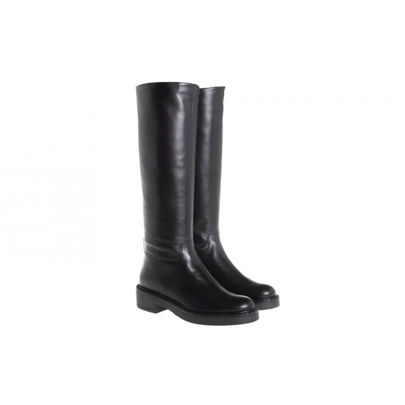 GUGLIELMO ROTTA - KIMBERLY Calf Leather Boots - Black