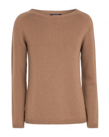 S MAX MARA - GIOSE Cashmere Knit - Dark Classic Camel