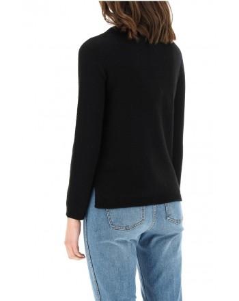 S MAX MARA - GIOSE Cashmere Knit - Black