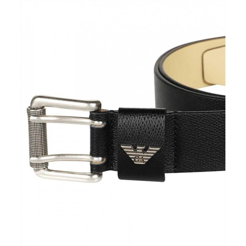 EMPORIO ARMANI - Belt Y4S079 YAQ2G - Black