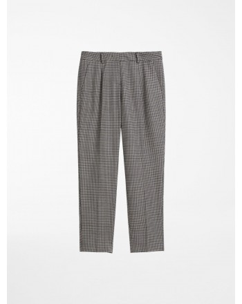 WEEKEND MAX MARA - DOVER Wool Cloth Trousers - Pied de Poule