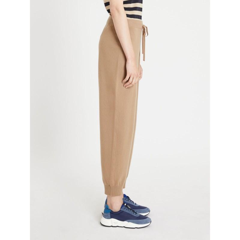 WEEKEND MAX MARA -  PATELLA Wool Cloth Trousers- Camel