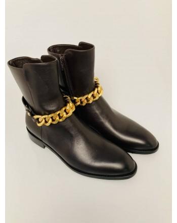 GUGLIELMO ROTTA - Victoria leather boot  7825 0006 - Brown
