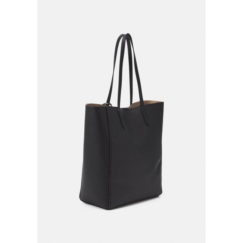 MICHAEL by MICHAEL KORS -  SINCLAIR Leather Tote Bag  -Black