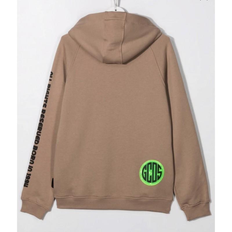 GCDS Baby - Sweatshirt with print 028452 - Mud