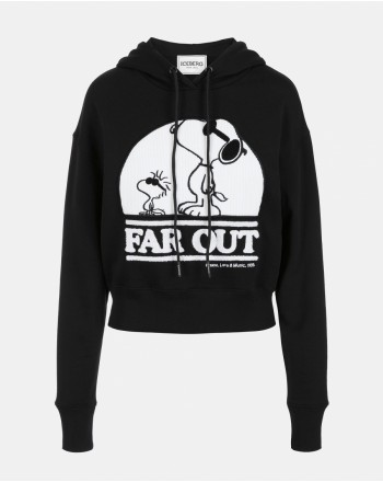 ICEBERG - SNOOPY FAR OUT Sweatshirt - Black