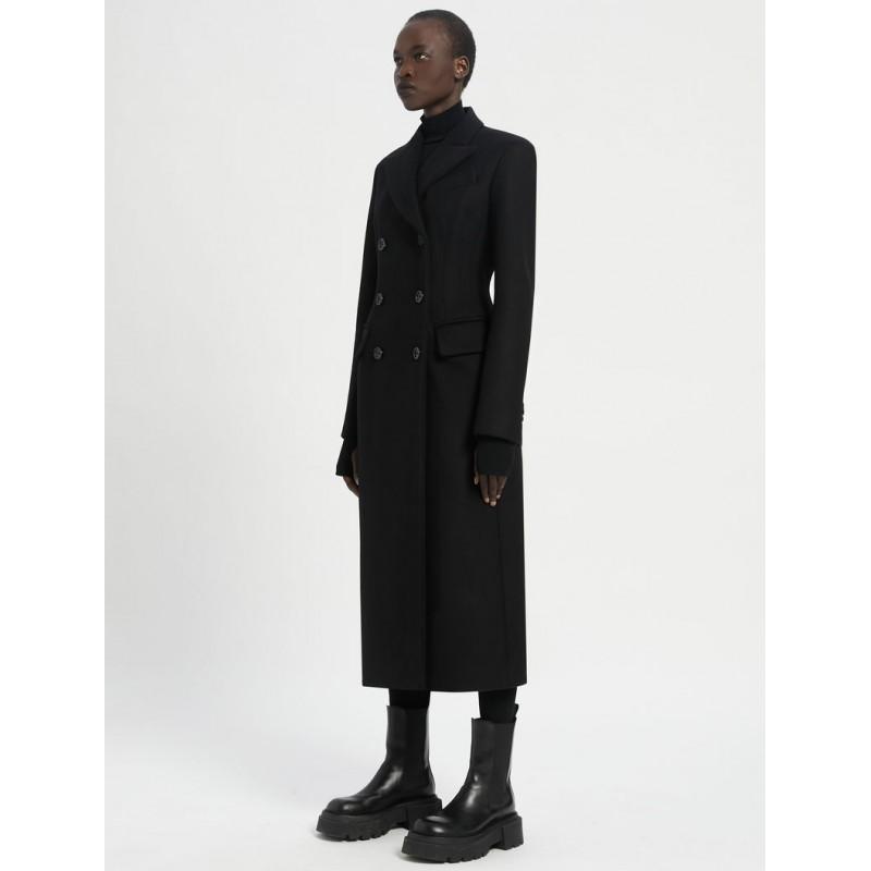 SPORTMAX - RENEEB Wool and Cashmere Coat - Black