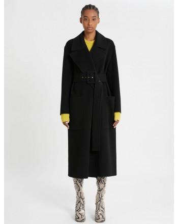 SPORTMAX -  DINAR Wool Coat - Black