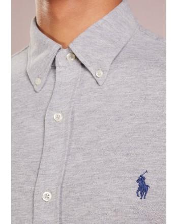POLO RALPH LAUREN - Piquet shirt 710654408 - Gray