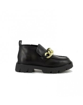 ASH - COMBO UNIVERSE Chain Loafers - Black