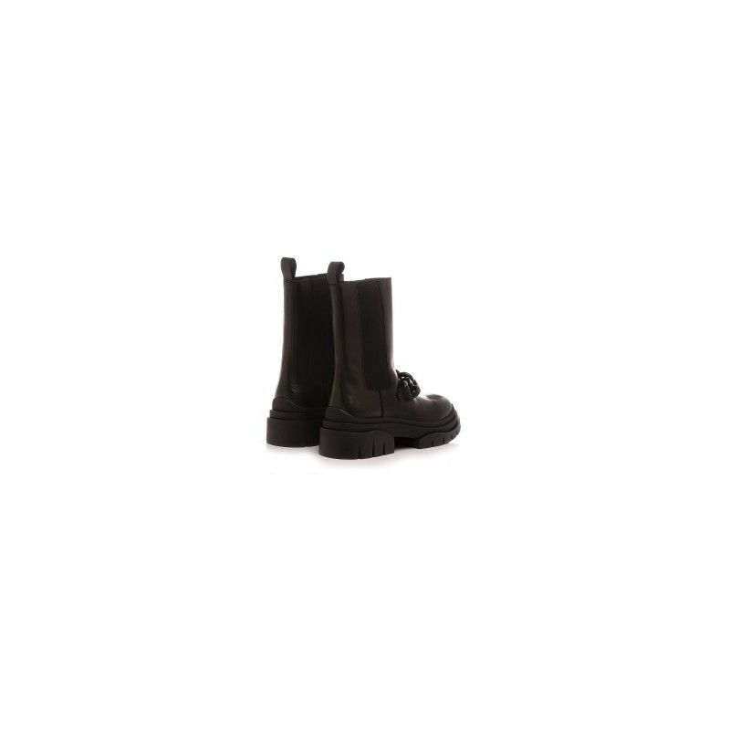 ASH - Stivale in Pelle MUSTANG STORM CHAIN - Nero