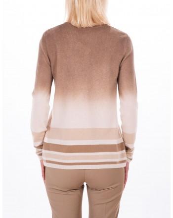MAX MARA STUDIO - ZURIGO sweater in wool and cashmere - Camel/Mud