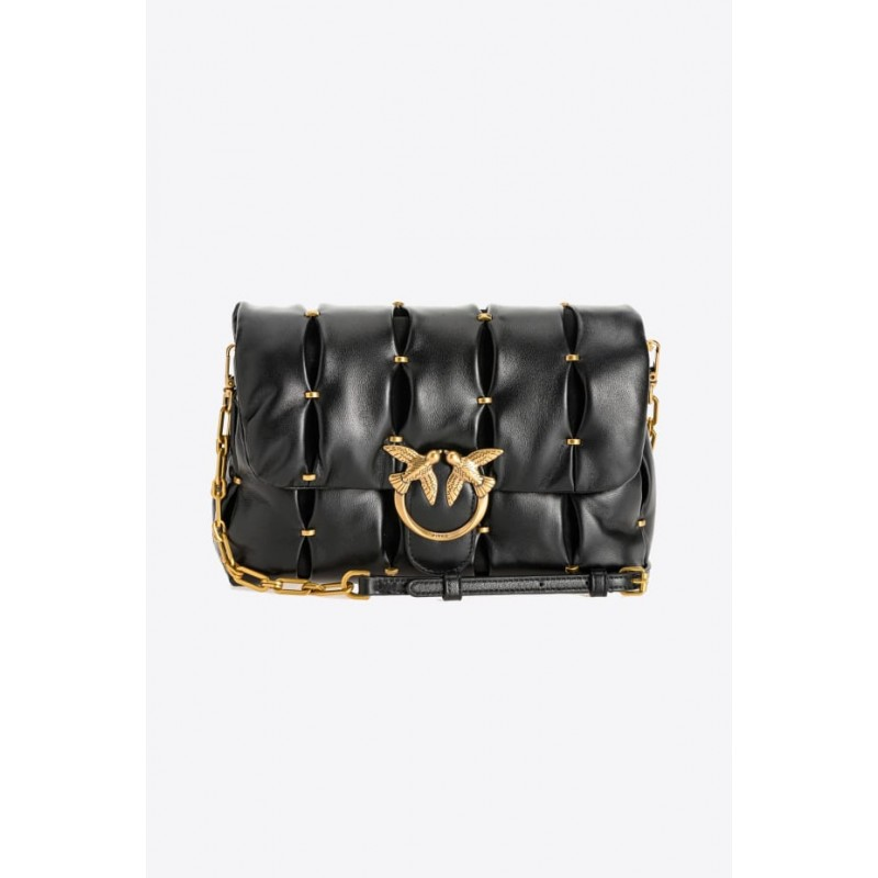 PINKO - LOVE CLASSIC PUFF PINCHED CL. Bag  - Black