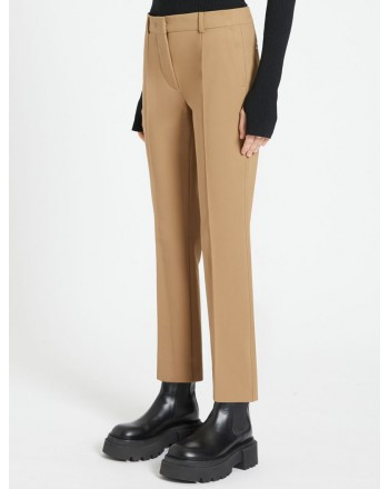 SPORTMAX - TABACCO Trousers- Biscuit