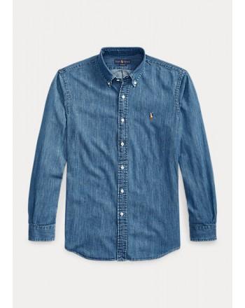 POLO RALPH LAUREN - Camicia in denim 710548539 - Denim