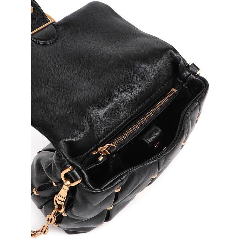 PINKO - LOVE MINI PUFF PINCHED CL. Bag - Black