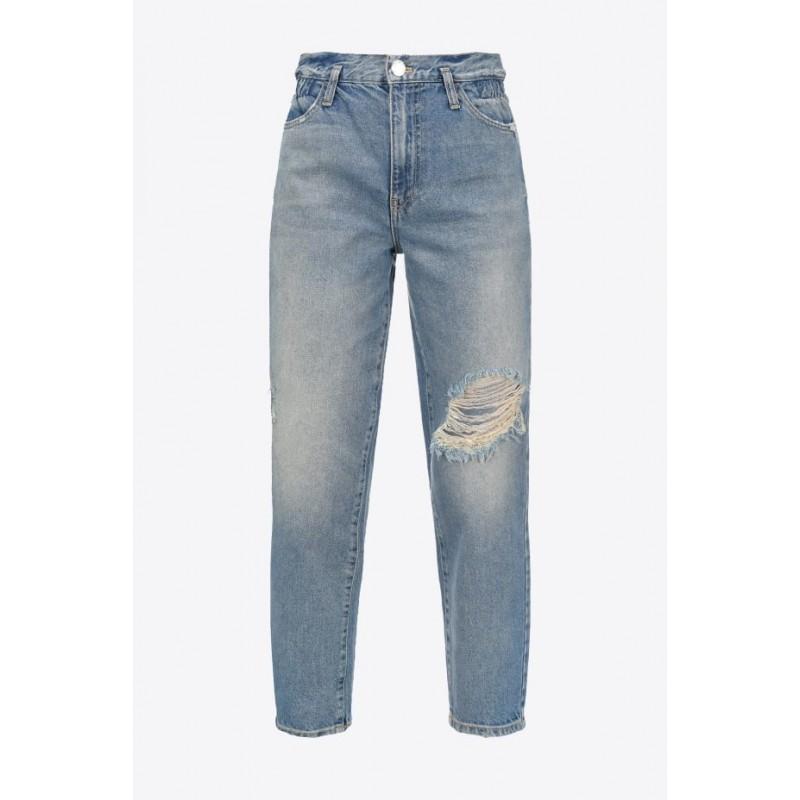 PINKO - FLEXI MADDIE 2 MOM Jeans - Denim