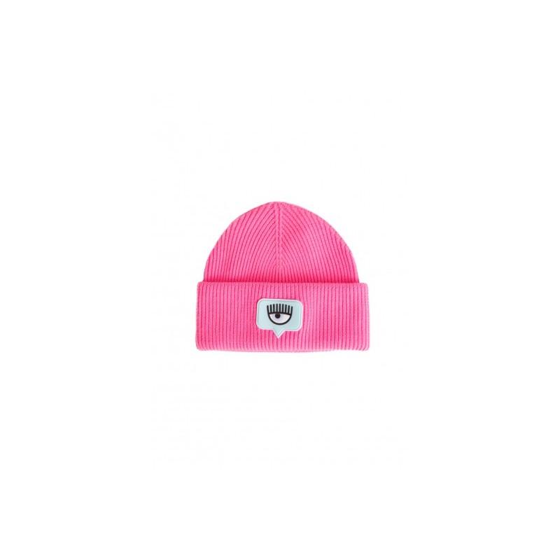 CHIARA FERRAGNI - Beanie Hat - Fluo Pink