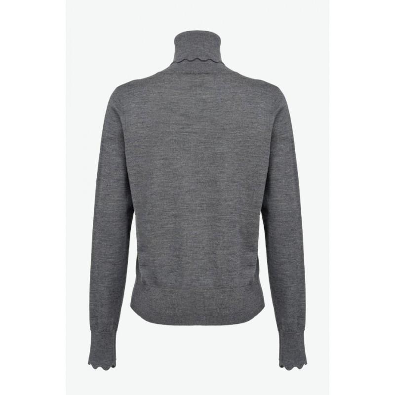 PINKO - BIANCOLELLA Pullover - Grey
