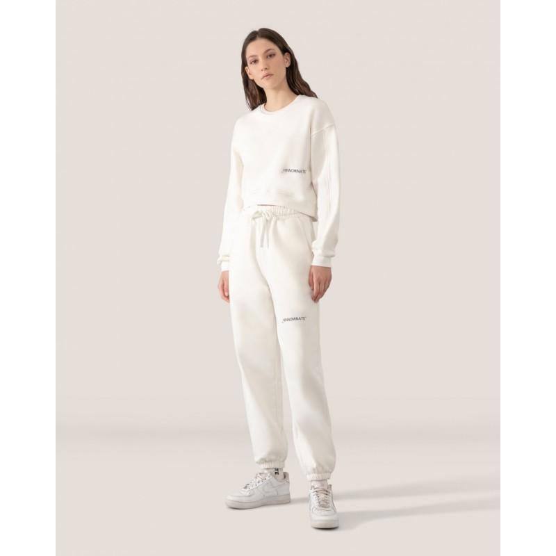 HINNOMINATE - Logo Sweatshirt - White