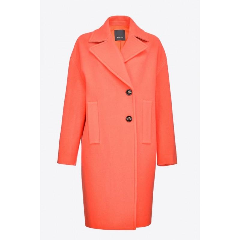 PINKO - INNING Coat - Orange
