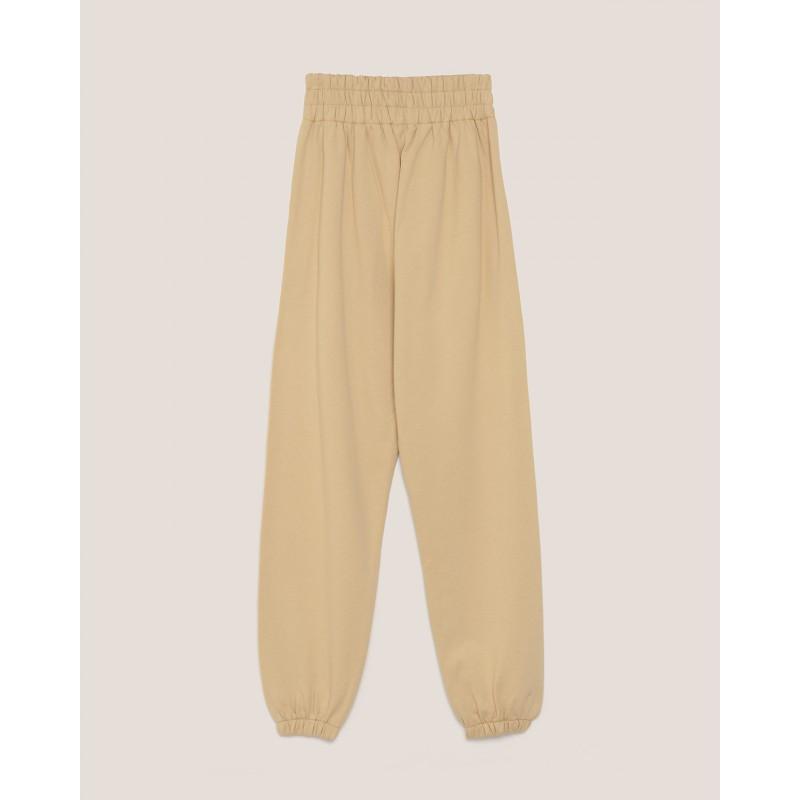 HINNOMINATE - Pantaloni in Felpa con Logo - Biscotto