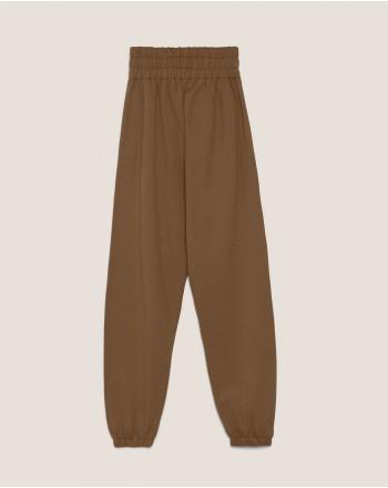 HINNOMINATE - Pantaloni in Felpa con Logo - Caffè