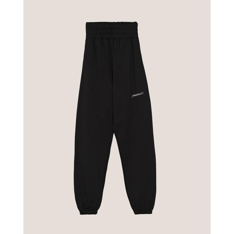 HINNOMINATE - Pantaloni in Felpa con Logo - Nero