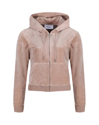 JUICY COUTURE - ROBERTSON Hoodie - Warm Taupe