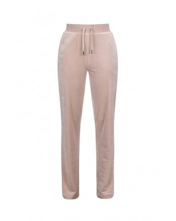 JUICY COUTURE - DEL REY Velour Joggers - Warm Taupe