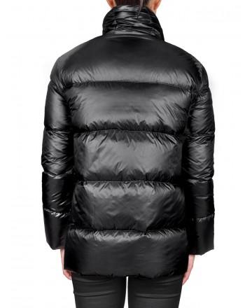 FAY -  Short quilted duvet - Black