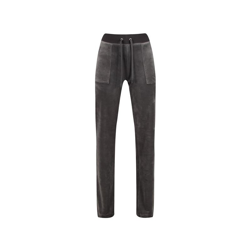 JUICY COUTURE - DEL RAY Velour Trousers - Tophat