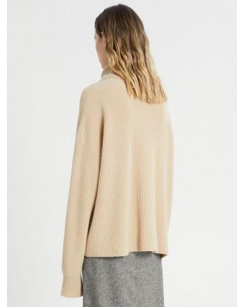 SPORTMAX -  GIULIA Blended Cashmere Knit - Sand